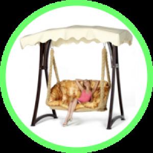 Гамаки-кресла двухместные