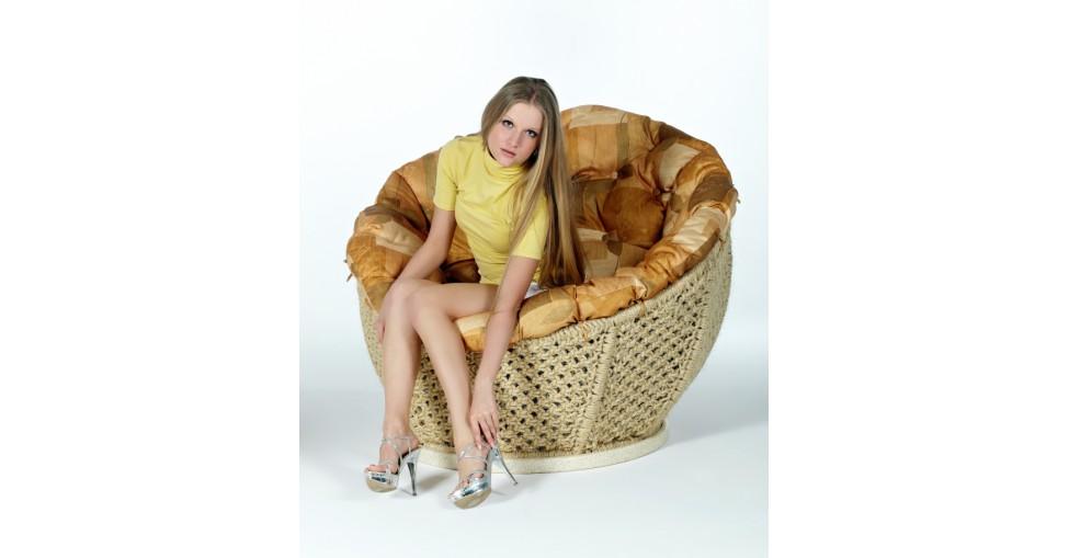 Кресло Омега сизалевое