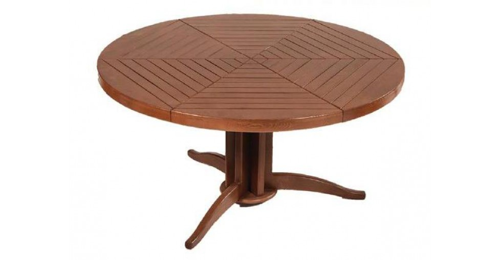Стол деревянный круглый Артур 130