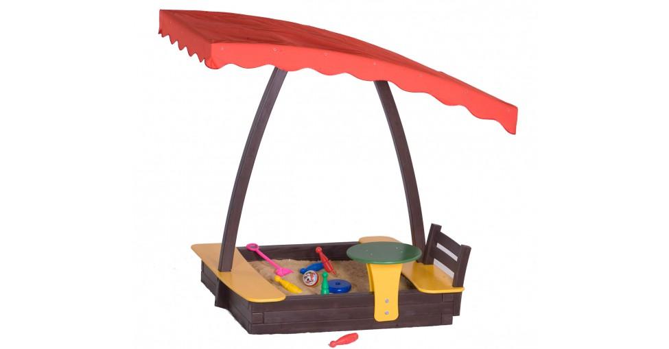 Песочница во столиком