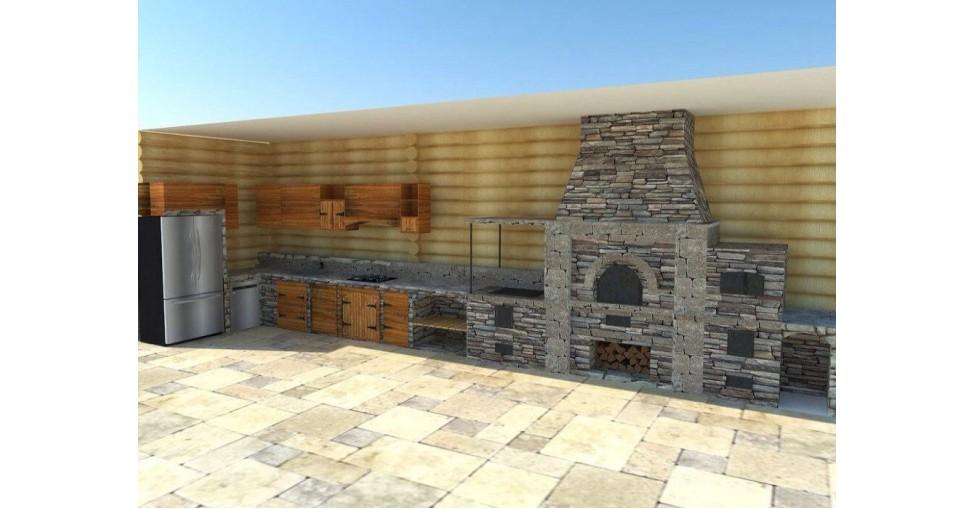 Строительство барбекю комплексов 2